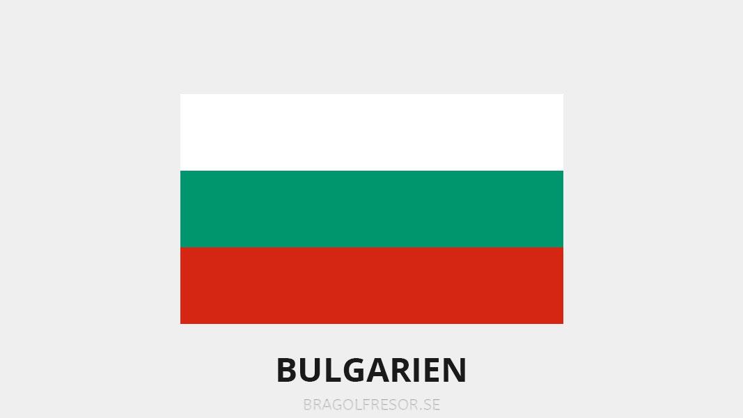 Landsinfo om Bulgarien - Bra Golfresor