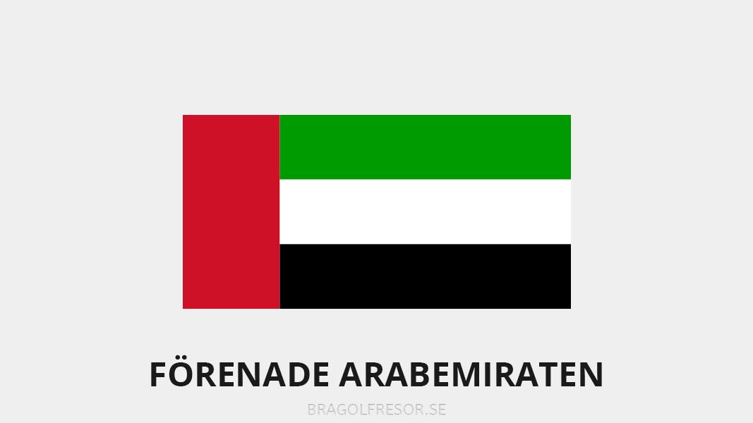 Landsinfo om Förenade Arabemiraten - Bra Golfresor