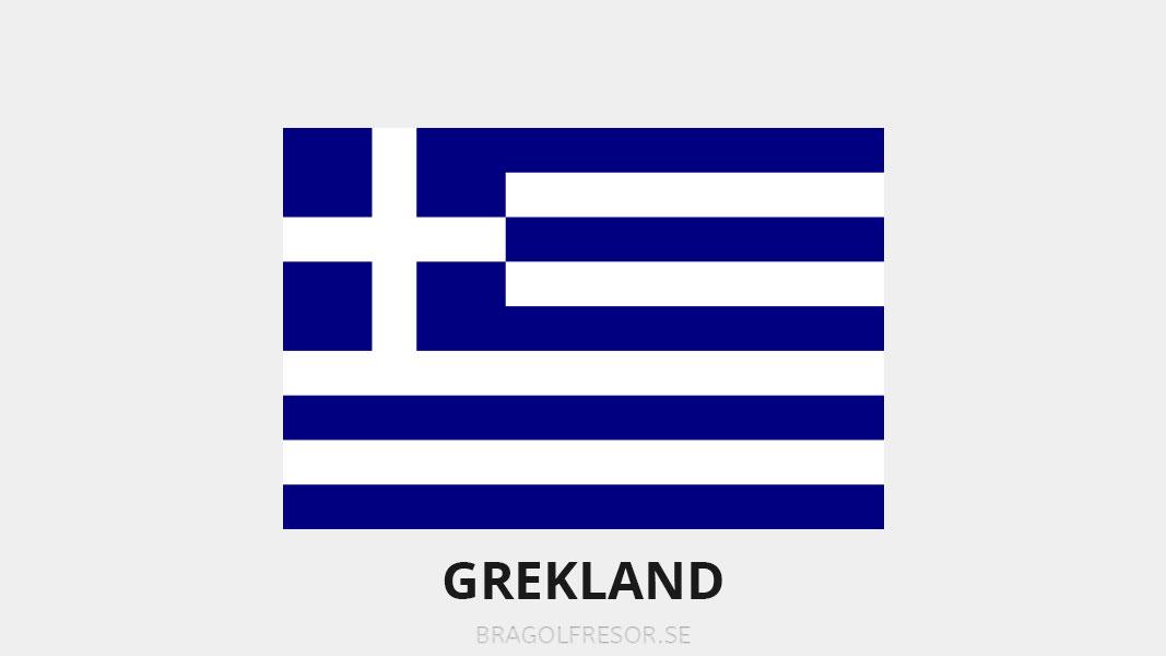 Landsinfo om Grekland - Bra Golfresor