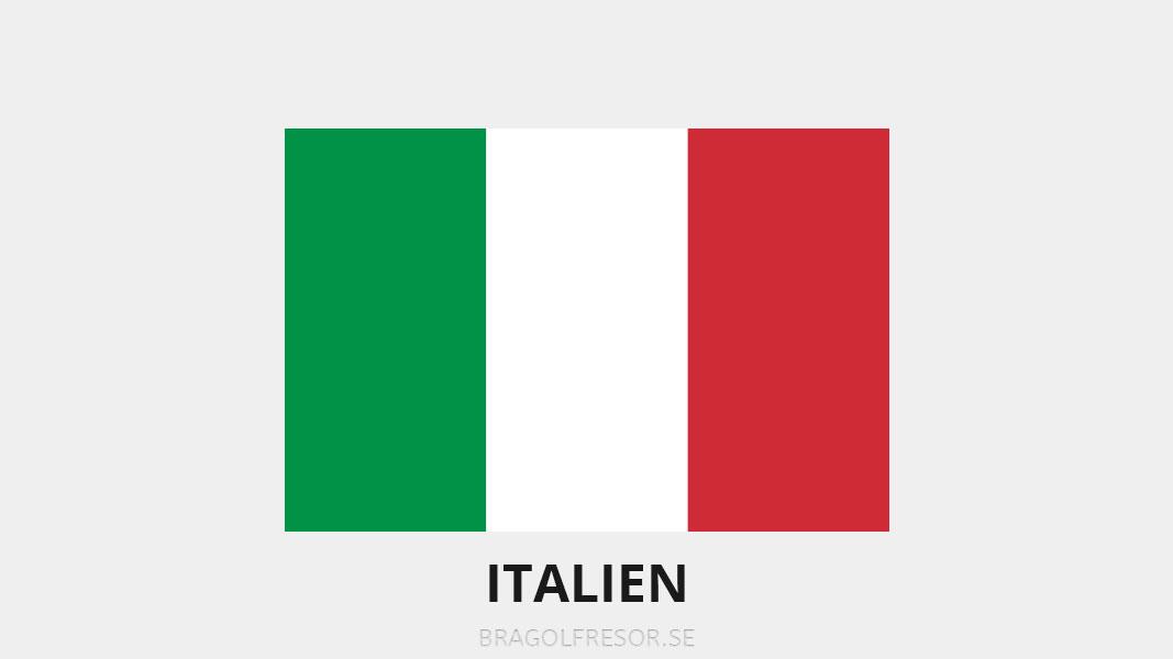 Landsinfo om Italien - Bra Golfresor