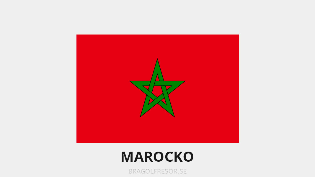 Landsinfo om Marocko - Bra Golfresor