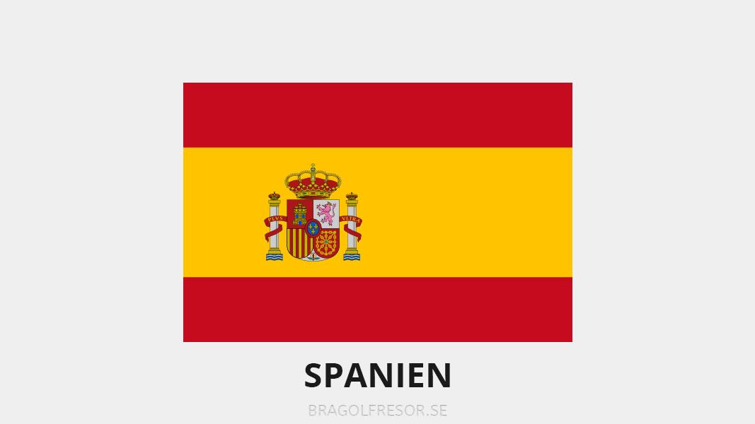 Landsinfo om Spanien - Bra Golfresor