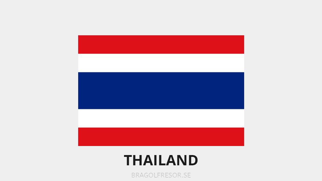 Landsinfo om Thailand - Bra Golfresor