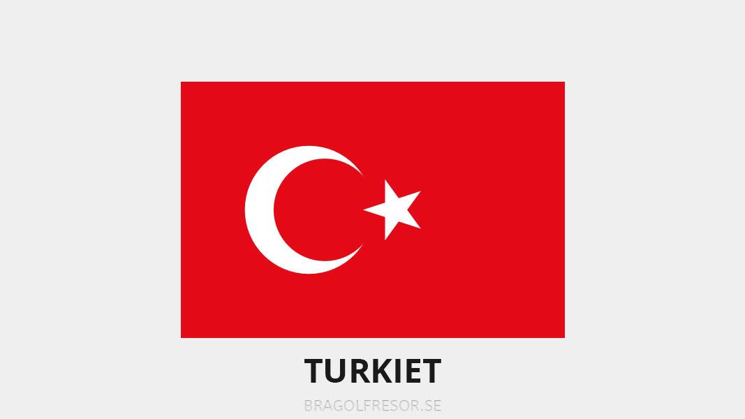 Landsinfo om Turkiet - Bra Golfresor