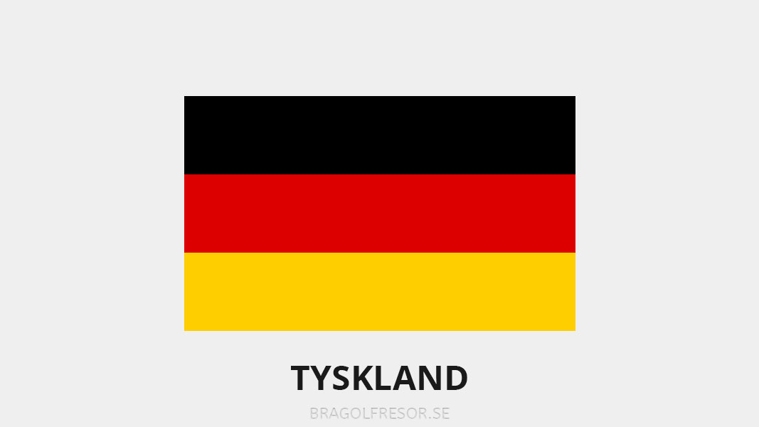 Landsinfo om Tyskland - Bra Golfresor