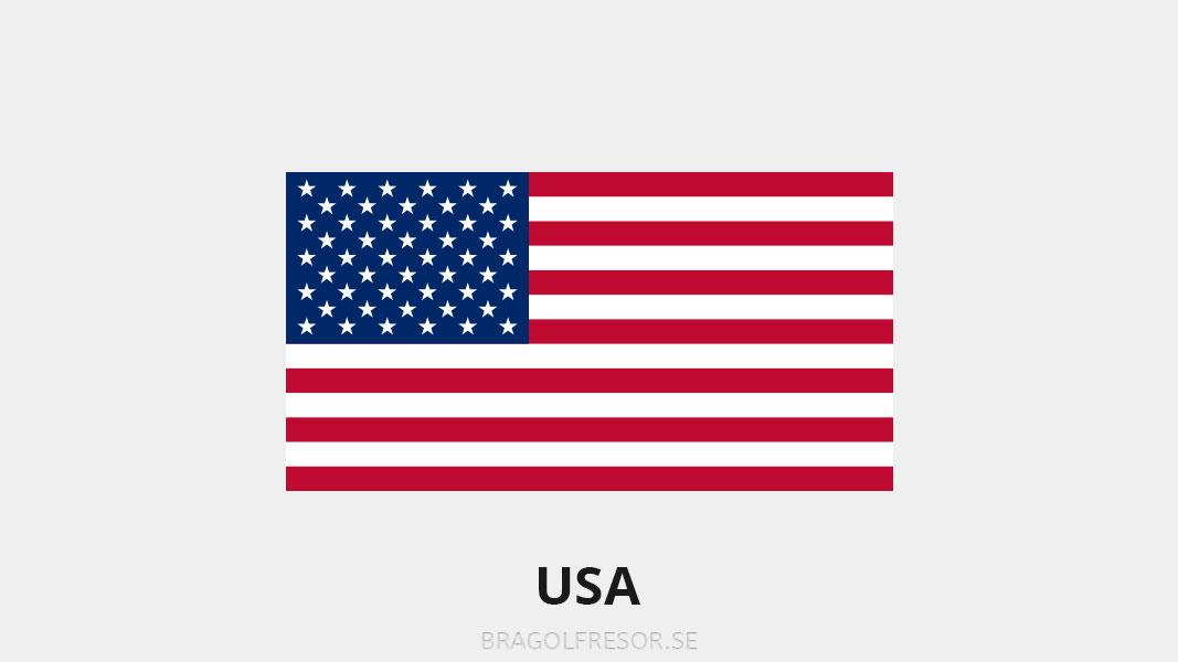 Landsinfo om USA - Bra Golfresor