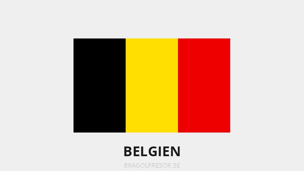 Landsinfo om Belgien - Bra Golfresor