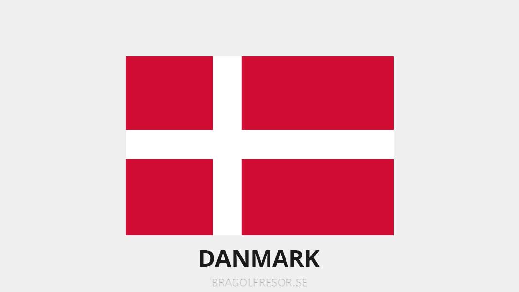 Landsinfo om Danmark - Bra Golfresor