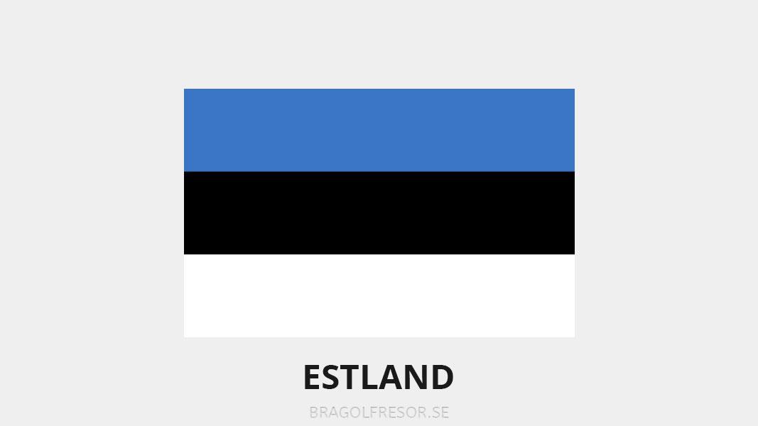 Landsinfo om Estland - Bra Golfresor