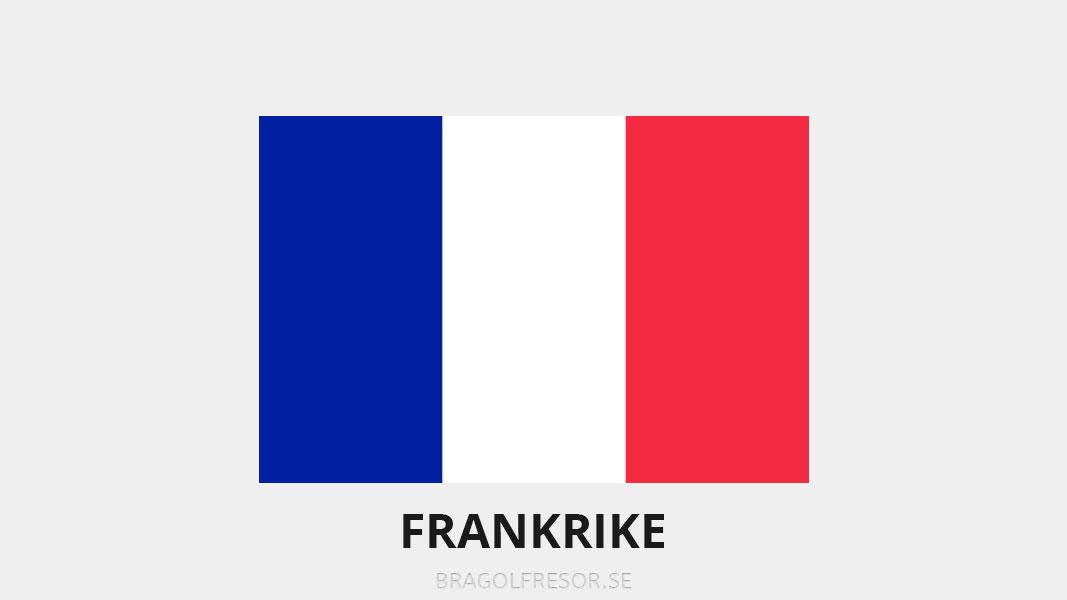 Landsinfo om Frankrike - Bra Golfresor
