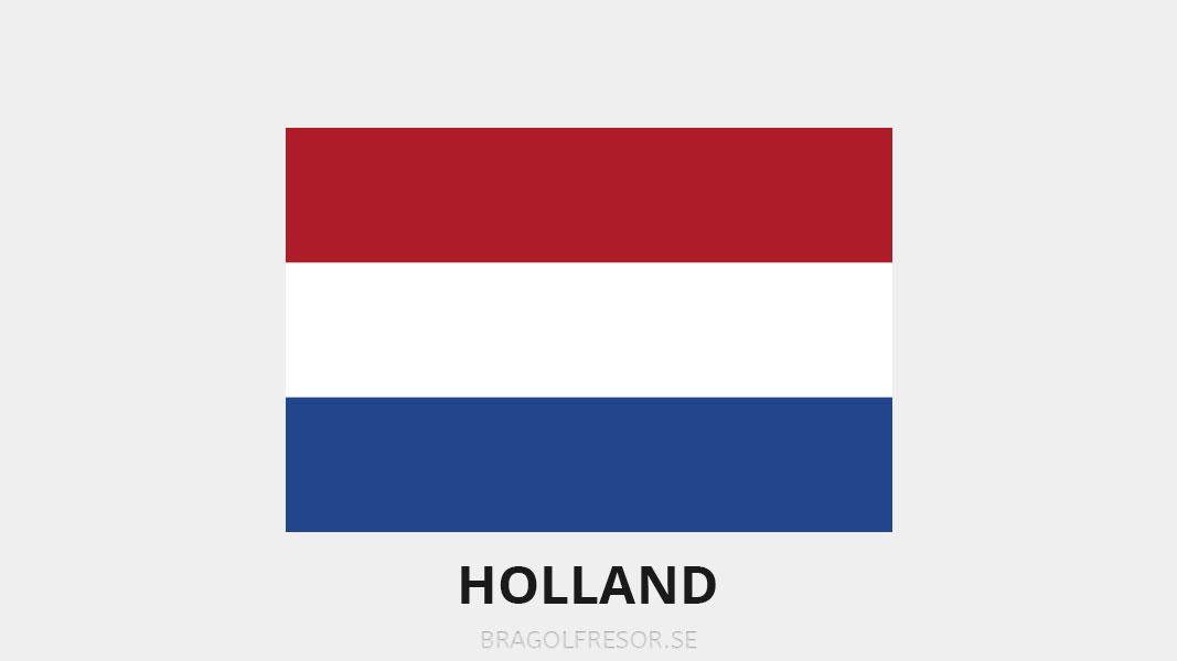 Landsinfo om Holland - Bra Golfresor