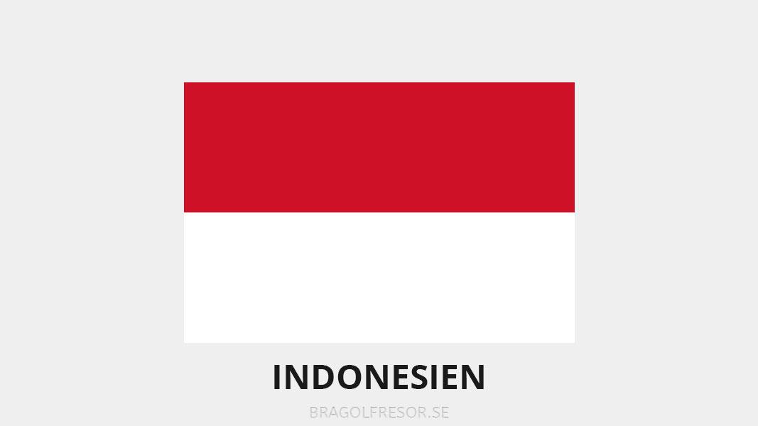 Landsinfo om Indonesien - Bra Golfresor