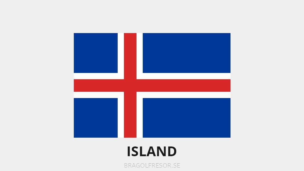 Landsinfo om Island - Bra Golfresor