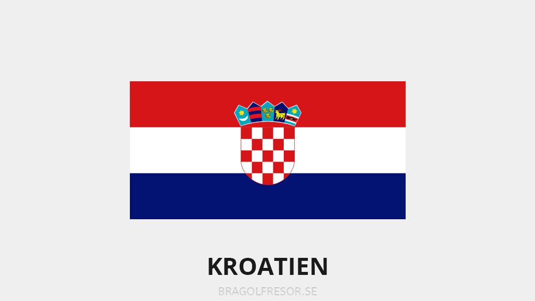 Landsinfo om Kroatien - Bra Golfresor