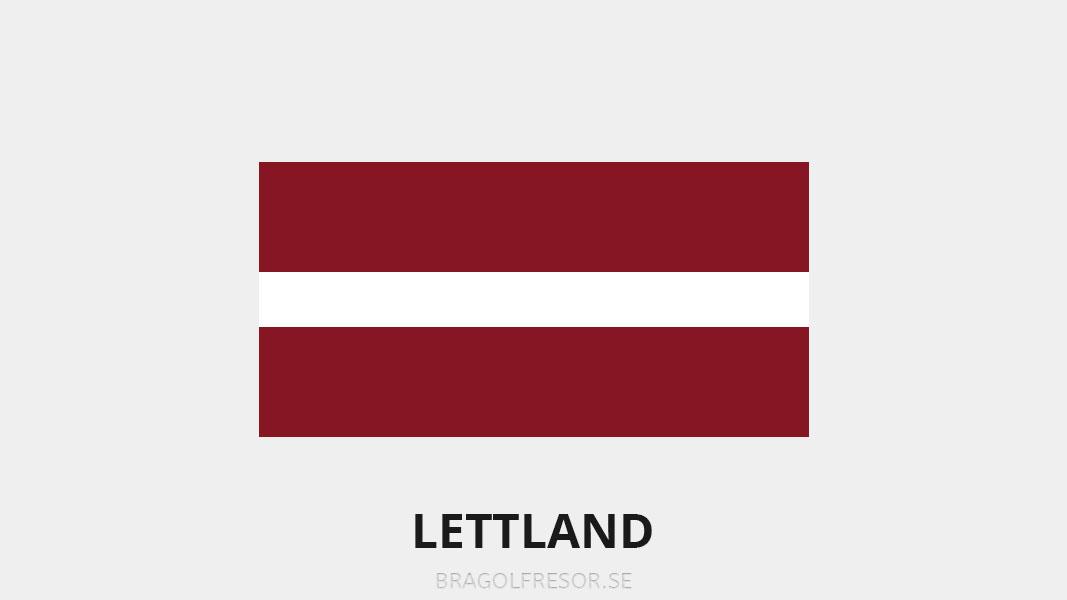 Landsinfo om Lettland - Bra Golfresor