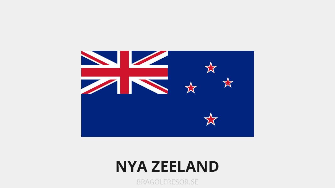 Landsinfo om Nya Zeeland - Bra Golfresor