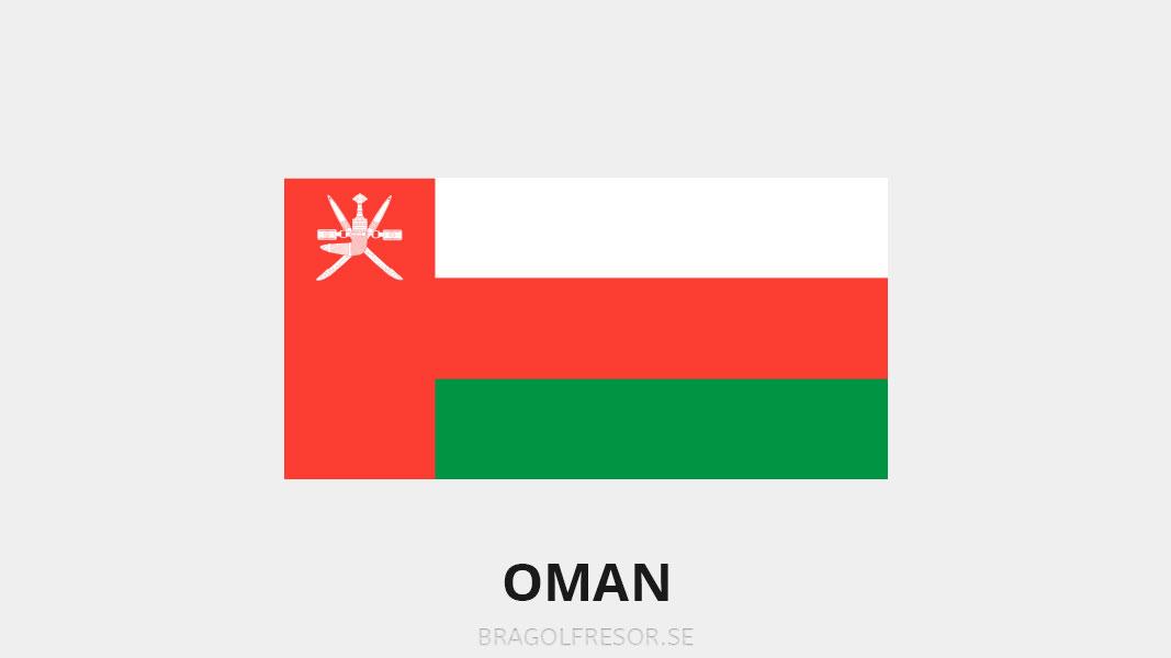 Landsinfo om Oman - Bra Golfresor