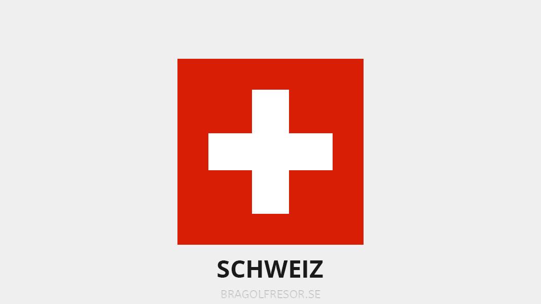 Landsinfo om Schweiz - Bra Golfresor