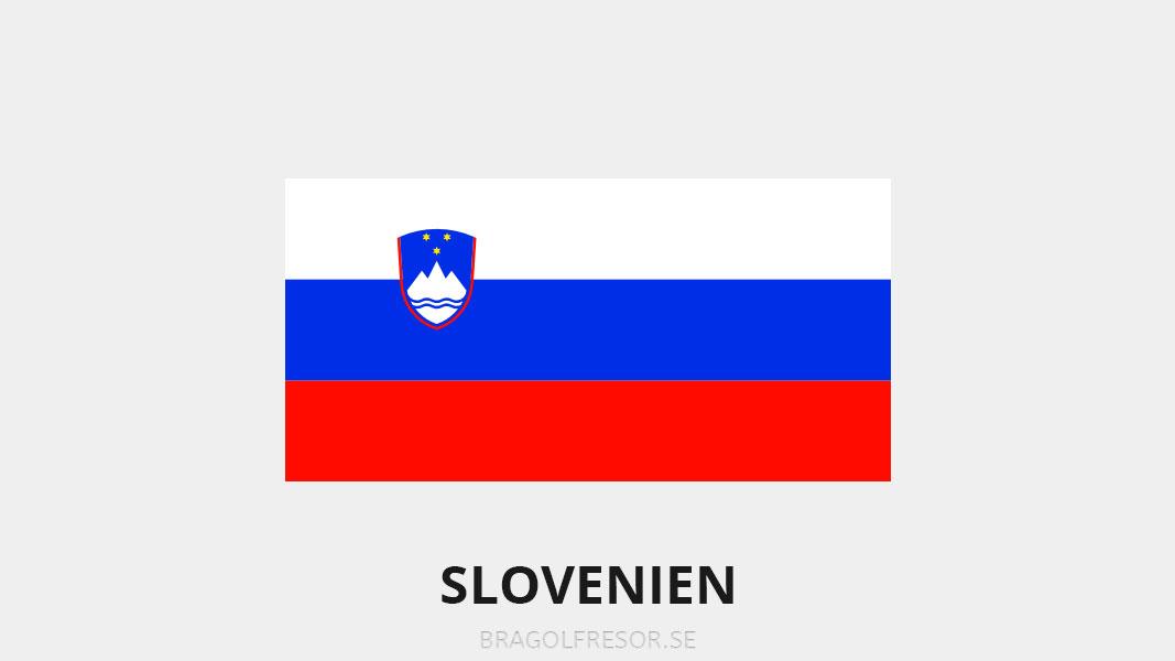 Landsinfo om Slovenien - Bra Golfresor