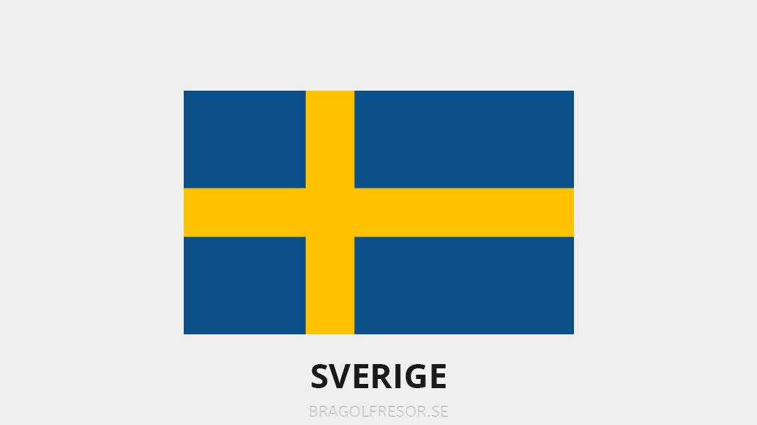 Landsinfo om Sverige - Bra Golfresor