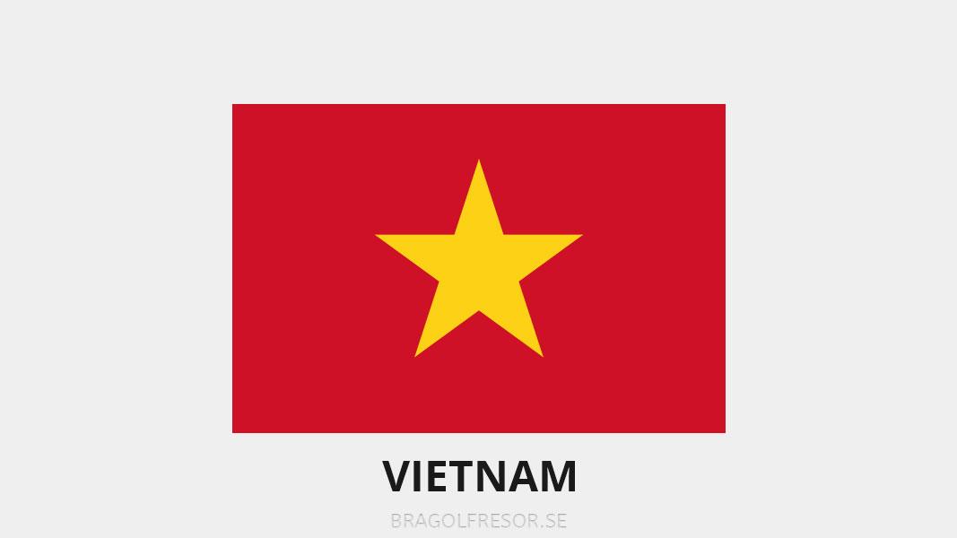 Landsinfo om Vietnam - Bra Golfresor